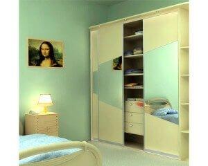 Шкаф-купе в спальню 32